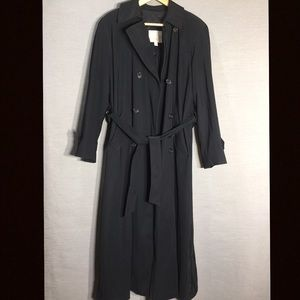 New York Harbour by Andrea long trench coat
